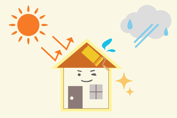 外壁塗装で防水効果を高めよう!