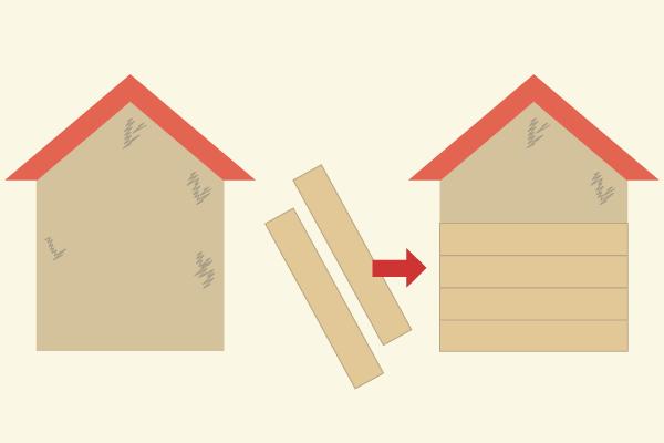 外壁のカバー工法とは